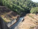 Clarrie Hall Dam spillway