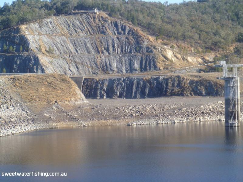 Glenlyon Dam 12 7 14