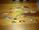 bass and river fish lures