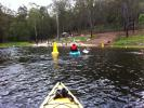 Kayaking Enoggera Reservoir