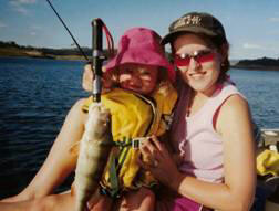 The whole family can enjoy fishing for Redfin in good conditions