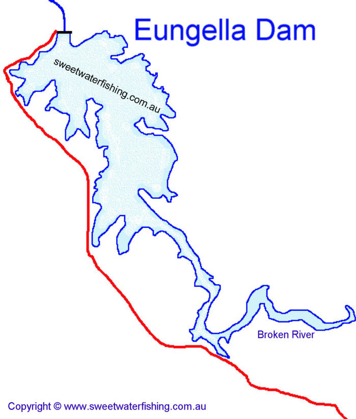 Eungella Dam Map