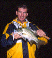 Lake Lenthall fires up at night. Fish like these common