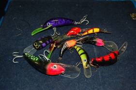 A selection of hard body lures to get the job done