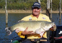 Dave Hodge with a good size Murray Cod