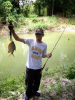 my brother jad in thailand, pacu fish similar like parahna