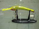Garra Lure - Peeli with racing stripes