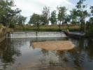 Weir on the Macintyre Brook